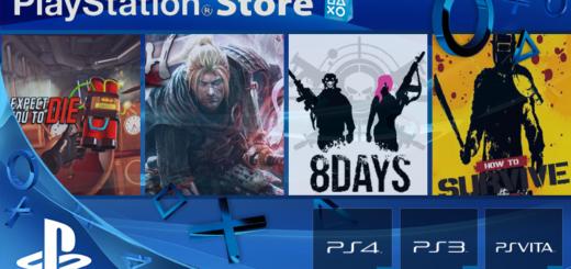 Playstation Store mise à jour 7 février 2017
