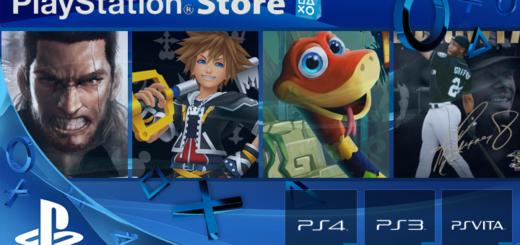 Playstation Store mise à jour 28 mars 2017