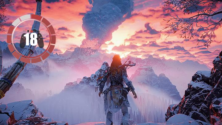 Horizon Zero Dawn The Frozen Wilds test