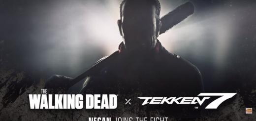 Tekken 7 x The Walking Dead Negan