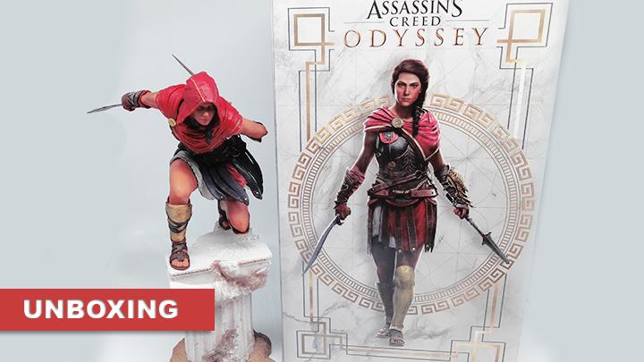 Assassin's Creed Odyssey Kassandra figurine
