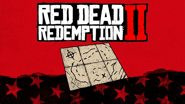 Red Dead Redemption chasse au trésor carte au trésor