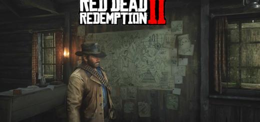 Red Dead Redemption 2 sculptures rocheuses