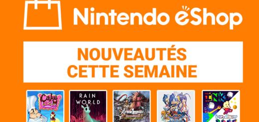 Nintendo eShop mise à jour du 27 décembre 2018