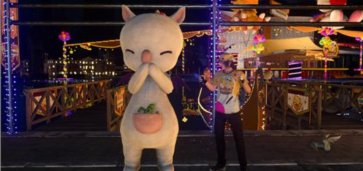 Final Fantasy XV carnaval kupo-kwéh