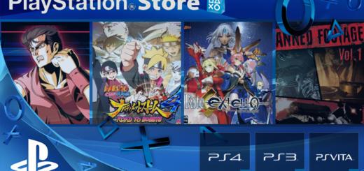 Playstation Store 31 janvier 2017