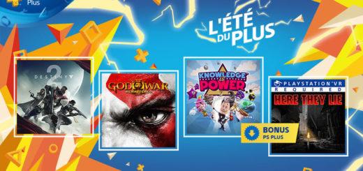 Playstation Plus Septembre 2018